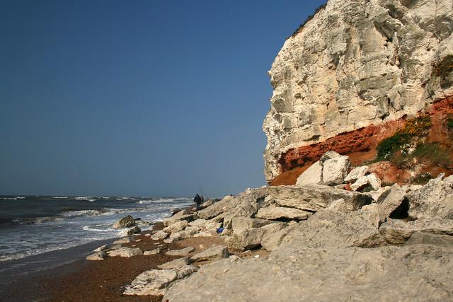The cliffs at Hunstanton