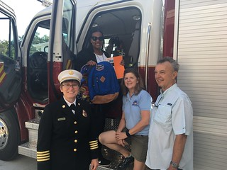 Fire station No. 1 dedication August 11, 2018 | by Sunrise Rotary of Gainesville, Fla.