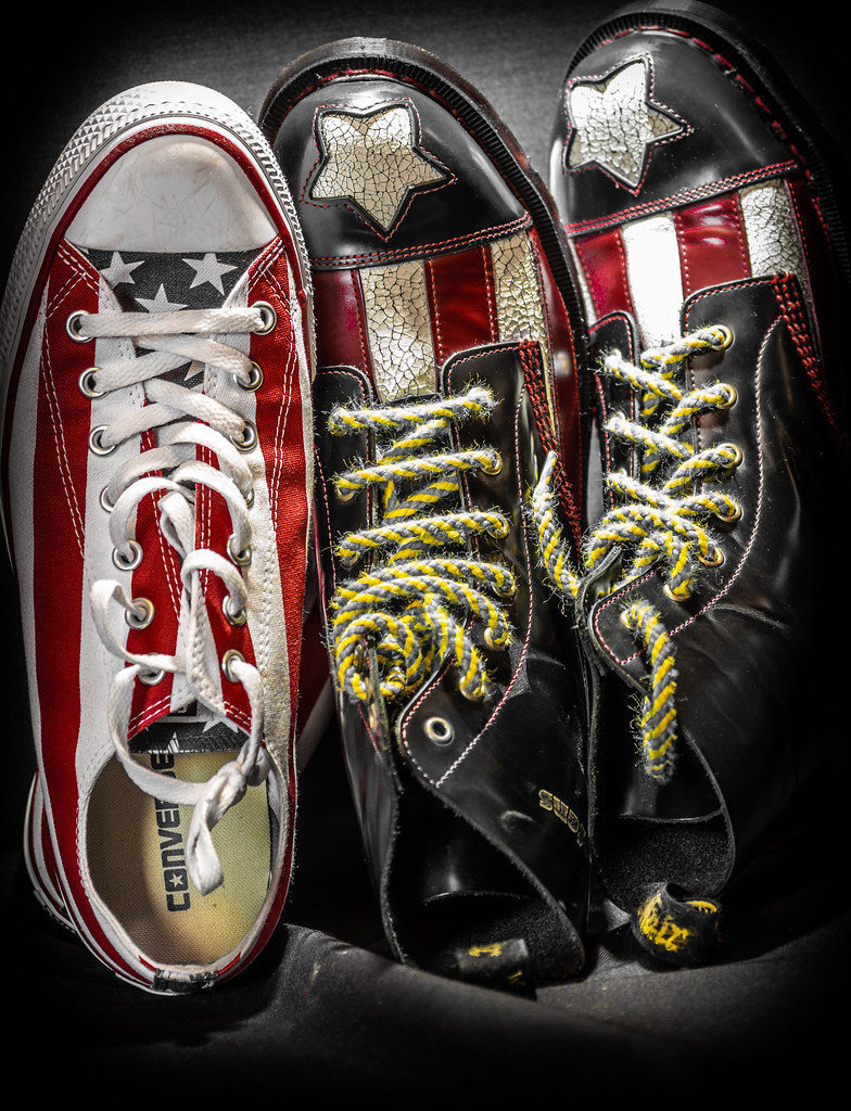 Converse vs Dr Martens. - a photo on
