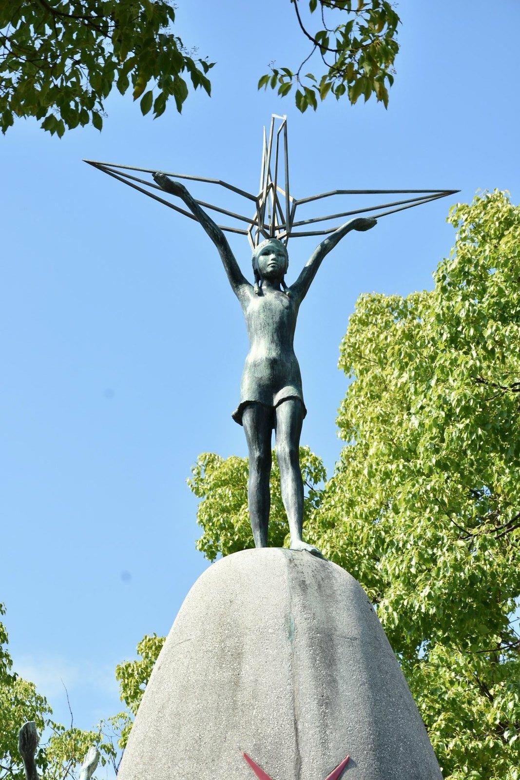 Hiroshima - mémorial de la paix des enfants - Sadako