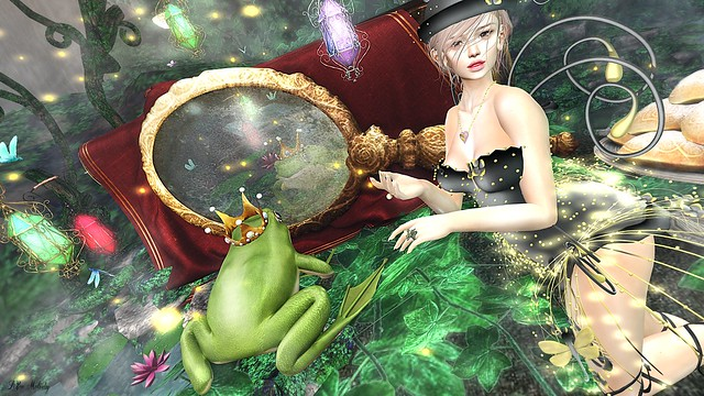 #149 Firefly and Frog Prince@'The FROG PRINCE' / Enchantment
