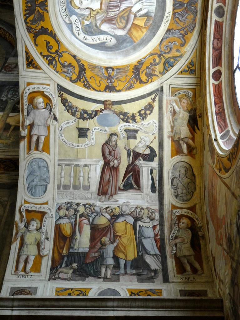 Museo Santa Giulia Brescia.Brescia Museo Santa Giulia The Nuns Choir Frescoes Ec Flickr