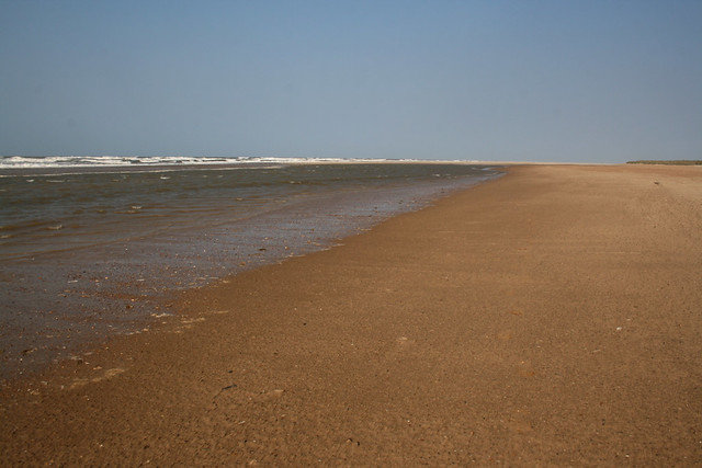 The beach at Holme-next-the-Sea