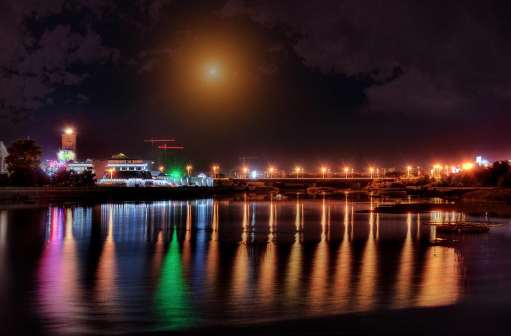 Челябинск ночь
