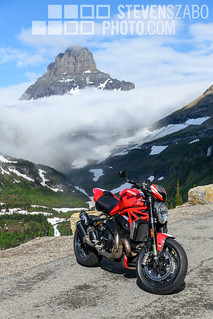 Going to the Sun Road Ducati | by Steven Szabo