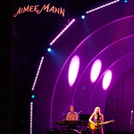 Thu, 21/06/2018 - 9:39pm - Aimee Mann and her band (including Jonathan Coulton) play in Prospect Park, Brooklyn, 6/21/18. Broadcast live on WFUV Public Radio. Photo by Gus Philippas/WFUV