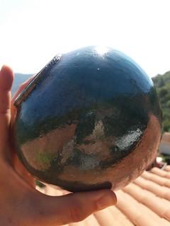 Vaso raku sferico | by Terra Accesa