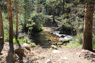 1015 Where the John Muir Trail crosses Wright Creek - I took off my shoes and the water felt great | by _JFR_