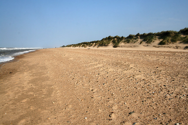The beach at Holme Dunes