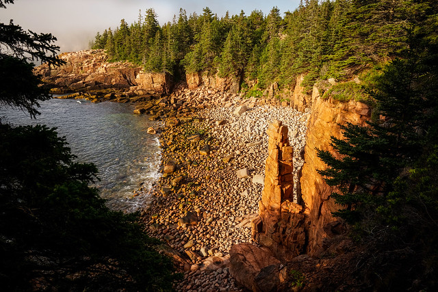Monument Beach - Acadia - Bar Harbor - Maine