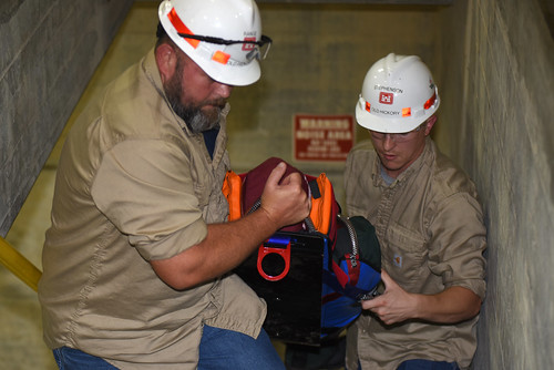 District dangles training dummy to get smart on confined space safety | by NashvilleCorps