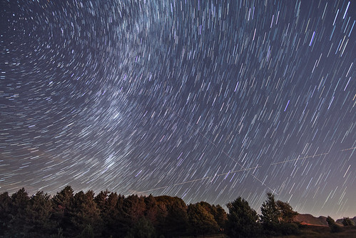 star trail | by quadrelli.lorenzo