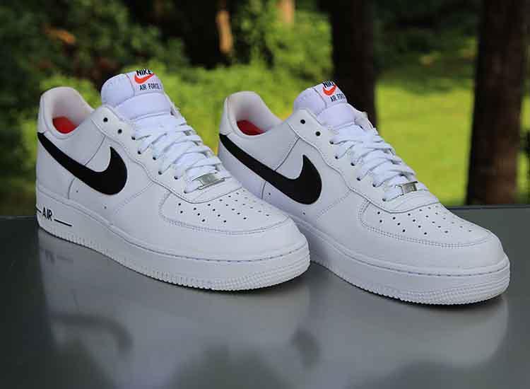 e2ff96b95 ... Nike Air Force 1 Low White Black 488298-158 Men's Size 10.5 | by  reddealsonline