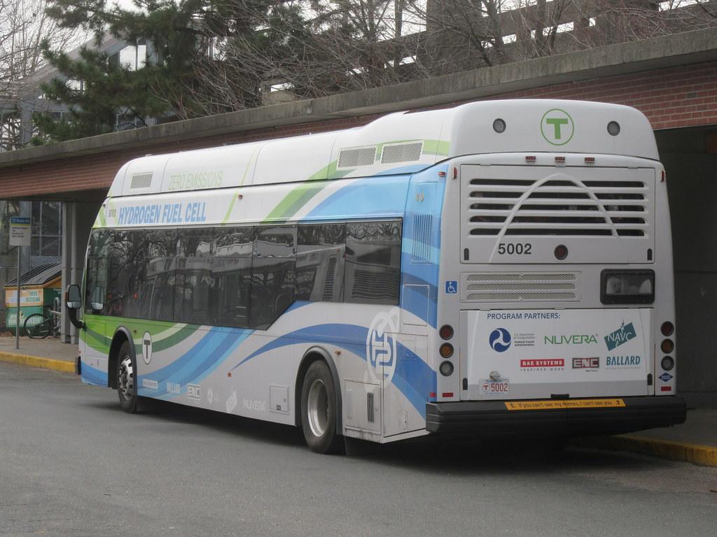 MBTA El Dorado Axess (Hydrogen Fuel Cell Test Bus) | Flickr