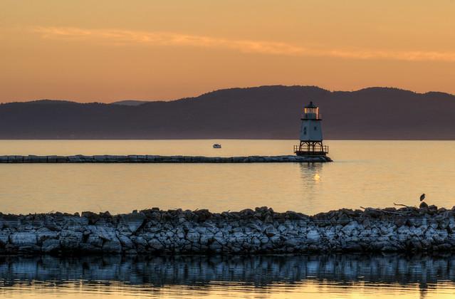 Burlington Breakwater North Lighthouse