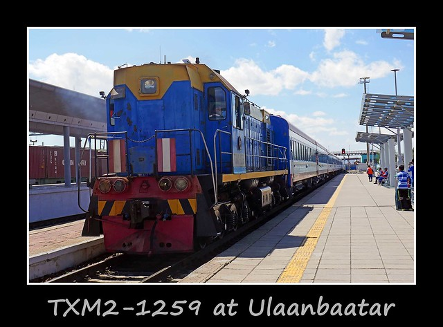Ulaanbaatar to Moscow service