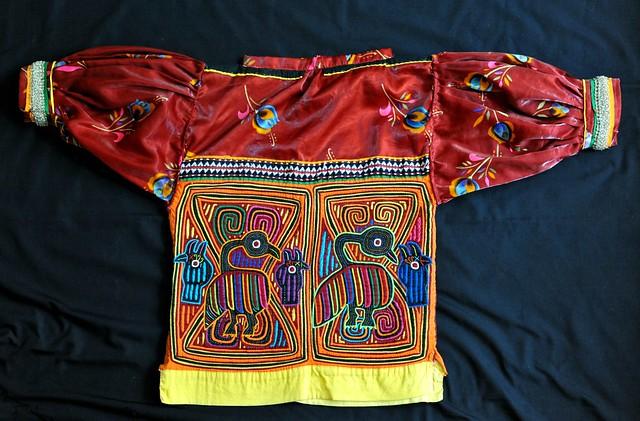 Guna Blouse Panama Molas kuna cuna textiles