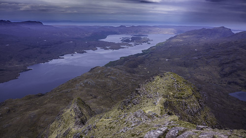 Loch Maree from Slioch | by Scotland's Mountains