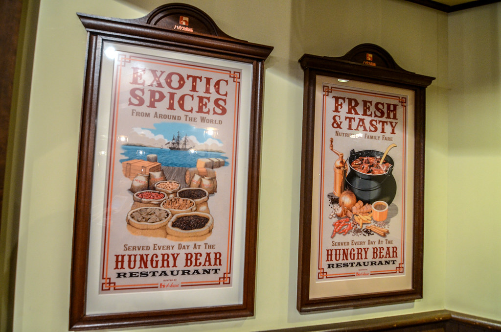 Hungry Bear Restaurant signs TDL