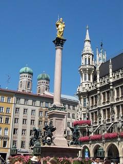 Marienplatz, heart of Munich