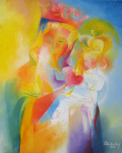 Our Lady of The Sacred Heart. 2018 by Stephen B. Whatley
