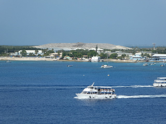 Grand Cayman - Landfill and Ferries