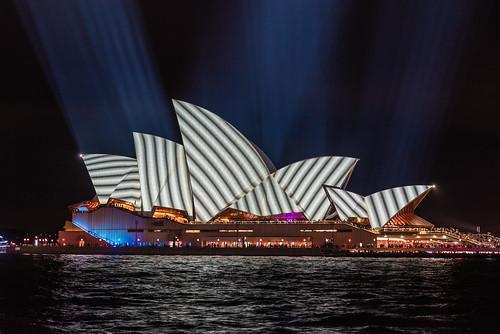 Sydney Opera House - Vivid Festival 2018 - I | by nikabuz