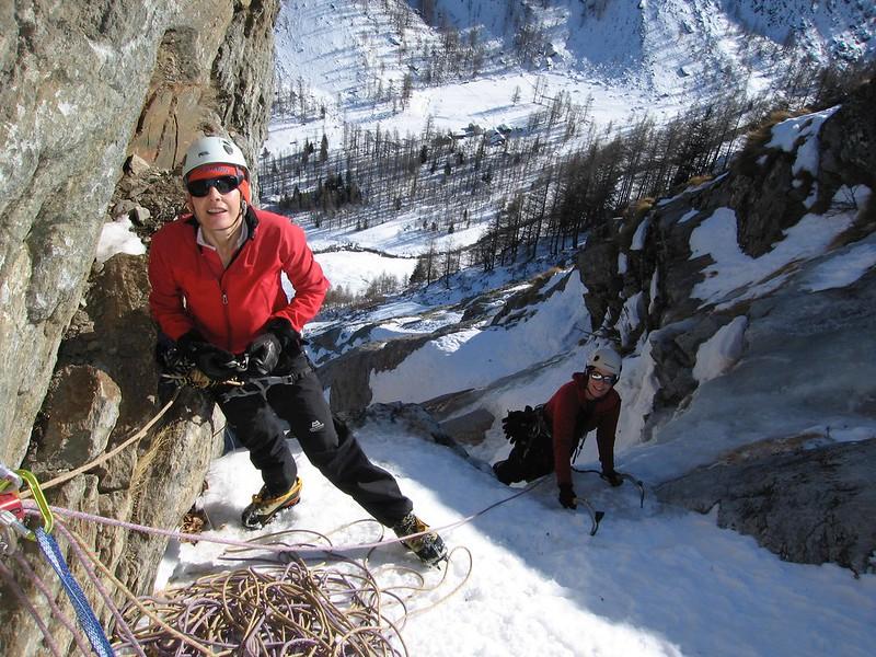 Sentiero dei Troll. Climbers: Noelle Godfrey and Claire Molloy