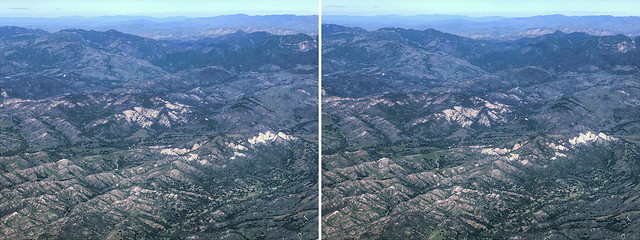 Hyperstereo Santa Ynez Mountains