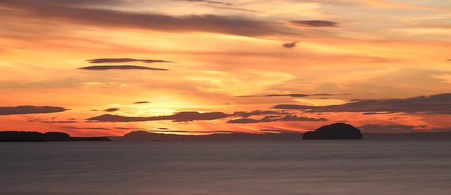 Bass Rock Sunset 1