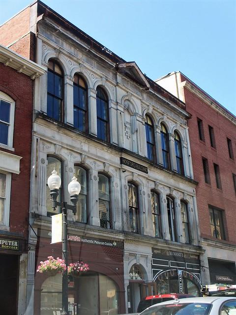 Hosford Building, Merrimack Street, Lowell, Massachusetts