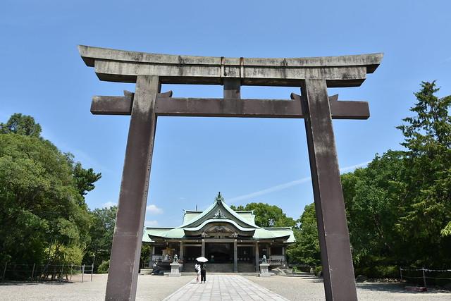 Osaka - sanctuaire shintô