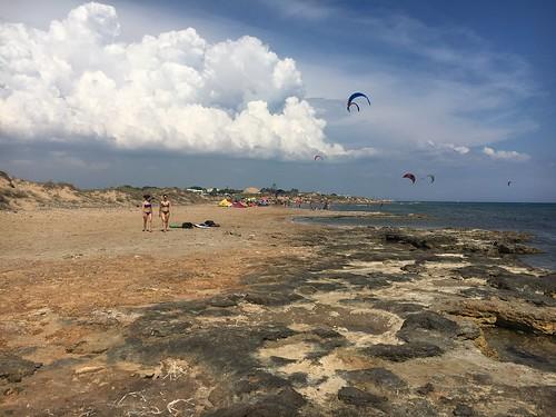 iphone6s cloud sky tropici tropical paradisebeach beach mediterranean mediterraneo italy sicilia sizilien sicile kartibubbo kitesurf