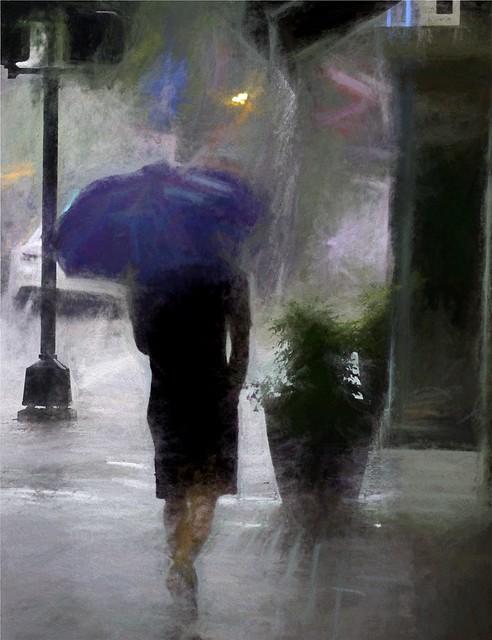 Painterly Photography - Umbrella a