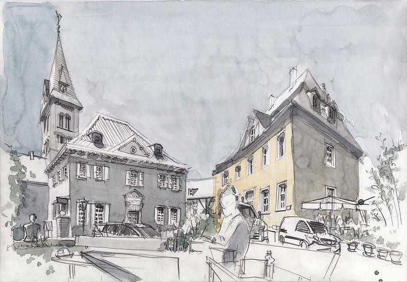 Herdecke, Stiftsplatz