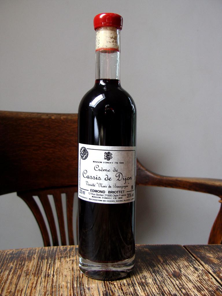 Creme De Cassis Creme De Cassis De Dijon 20 Is The Briott Flickr