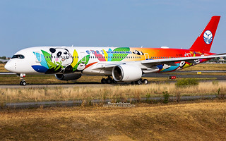 Airbus A350-900 Sichuan Airlines B-301D | by French_Painter