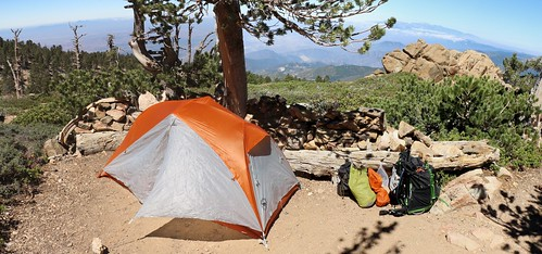 153 My Big Agnes Copper Spur UL1 tent at the Limber Pine Bench campground | by _JFR_