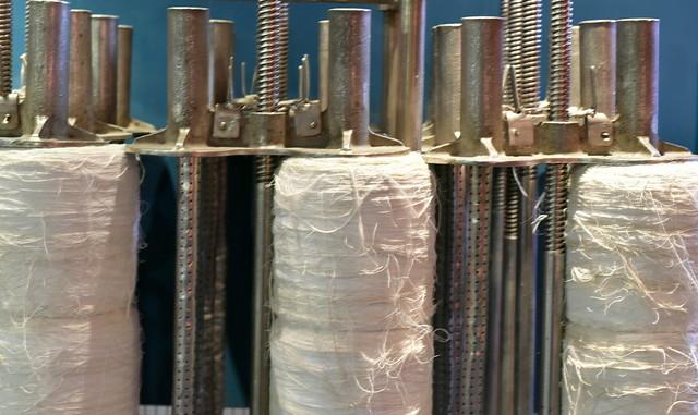 Turning cotton into thread