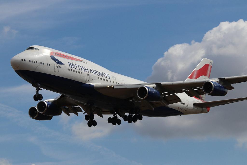Boeing 747-436 British Airways G-BNLK