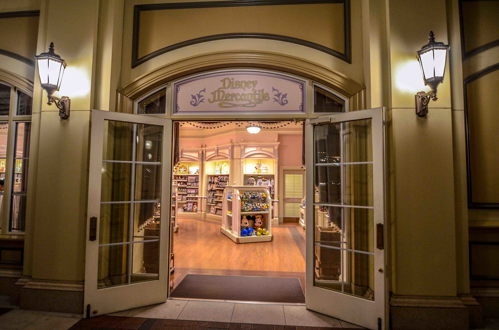 Disney Mercantile in Tokyo Disneyland Hotel TDR