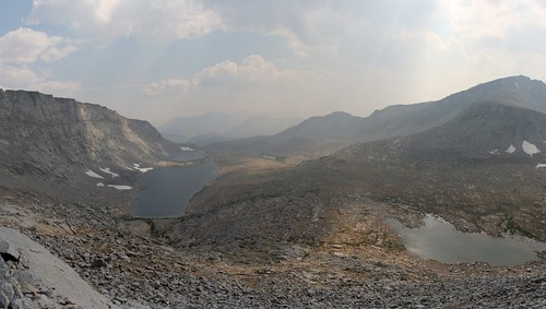 0809 View south as I descend from Forester Pass on the John Muir Trail, with Caltech Peak on the far right   by _JFR_