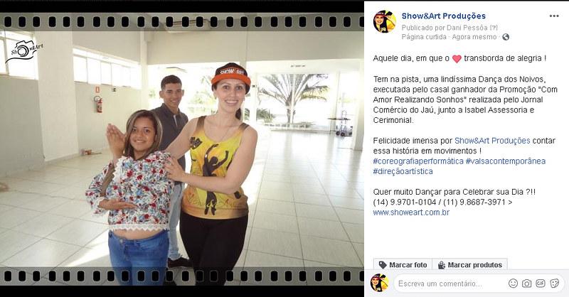 Show&Art Produções _ FanPage_ No dia do Casamento