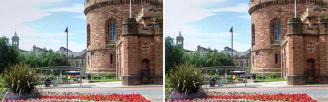 The Citadel, Carlisle, in 3D