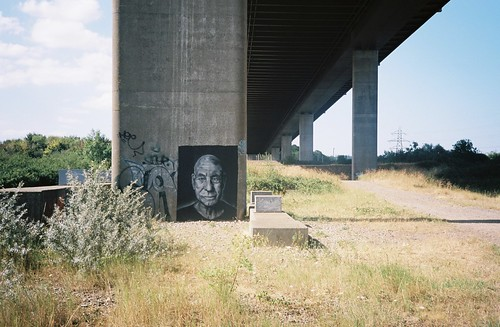 Patrick Stewart under the M5 | by knautia