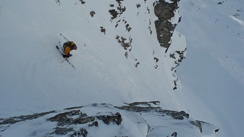 Cheeky number in Val Thorens. Skier: Jon Wigg
