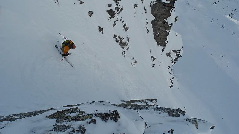 Cheeky number in Val Thorens. Skier: Jon Wigg