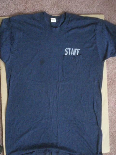 1976-08-07 Red Bank Security shirt Joe Kivak front