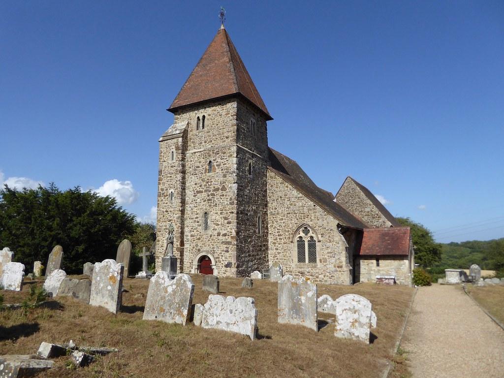 Guestling church Winchelsea to Hastings via Three Oaks walk
