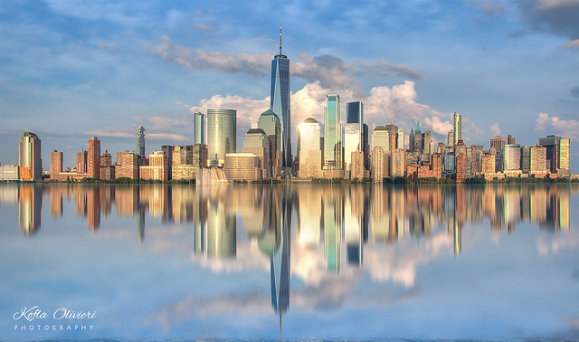 One World Trade Center Reflection